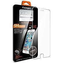 [Installazione di Easy] Spigen® Pellicola Vetro Temperato iPhone 6S / 6 [Resistente ai graffi più profondi] Ultra resistente in Pellicola vetro temperato iPhone 6 / 6s, Pellicola Protettiva iPhone 6S / 6 (SGP11588)