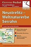 Klemmer Pocket Rad- und Wanderkarte Neustrelitz – Weltnaturerbe Serrahn: GPS geeignet, Touren-Tipps auf der Rückseite, 1:50000