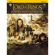 Lord Of The Rings: Instrumental Solos: Flute (Book And CD). Partitions, CD pour Flûte Traversière