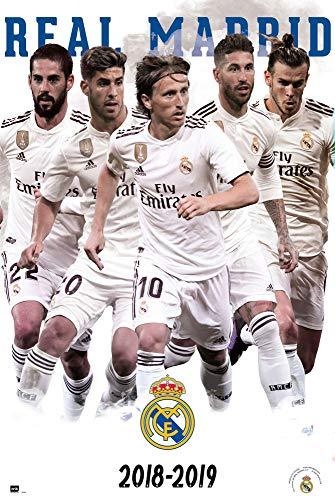 Erik Editores Póster Real Madrid 2018/2019 Grupo