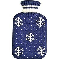 Vagabond Bags 2Liter Schneeflocke Blau Hot Wärmflasche und Bezug preisvergleich bei billige-tabletten.eu