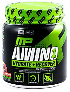 Muscle Pharm Amino 1 Hydration & Recovery Supplement - 0.94 lbs (Fruit Punch)