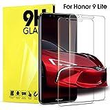 DOSNTO 2 Pack Pellicola Protettiva en Vetro Temperato per Huawei Honor 9 Lite Salvaschermo per Display 9H Durezza Glass Protezione Schermo Screen Protector Trasparente Compatibile con Honor 9 Lite