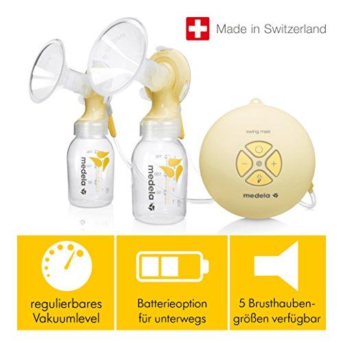 Milchpumpe Medela Swing maxi - elektrische Doppel-Milchpumpe, Schweizer Medizinprodukt - 7