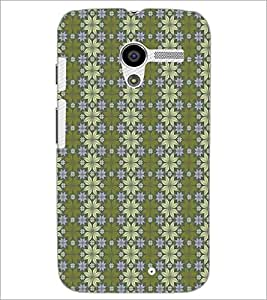 MOTOROLA MOTO X FLOWER PATTERN Designer Back Cover Case By PRINTSWAG