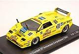 per LAMBORGHINI COUNTACH N.88 25° ANNIVERSARIO COMPETIZIONE (1994) 1:43 Whitebox Auto Competizione modello modellino die cast