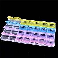 Preisvergleich für SODIAL Aufbewahrungsbox Multifunktions-Diamant-Stick Slot Box, 28-Grid Schmuck Diamanten Perlen Ohrringe Halskette...