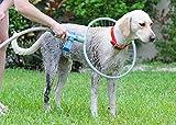 Pink Pari Pet Dog Cat Bathing Washing 360 Degree Shower Tool Kit Cleaning Washer