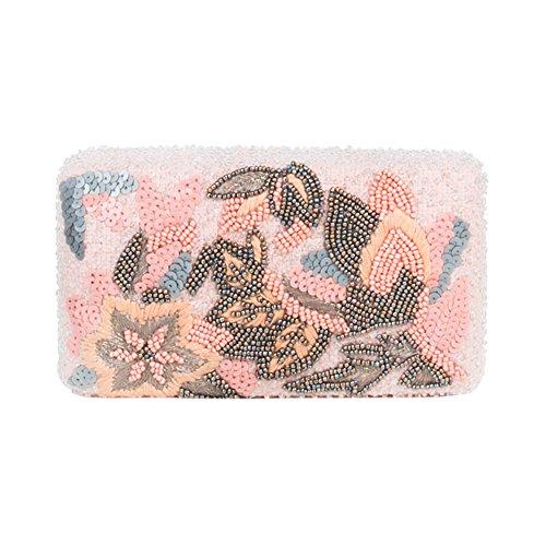 Parfois - Clutch - Bolso De Fiesta Cotton Candy - Mujeres - Tallas M - Rosa