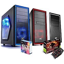 PC GAMING i7 7700K DESKTOP INTEL HDD 1TB /SSD 120GB/RAM DDR4 16GB ASUS GTX1050TI 4GB WINDOWS 10 PROFESSIONAL ASSEMBLATO