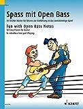 Spass mit Open Bass: 50 leichte Stücke für Gitarre zur Einführung in das zweistimmige Spiel. Gitarre. - Dieter Kreidler