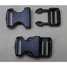 SL 10 St/ück Mini-Steckschnalle f/ür 11mm Gurtband oder Paracord Schnalle