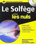 Le solfège pour les nuls (CD Inclus) de Jean-Clément JOLLET