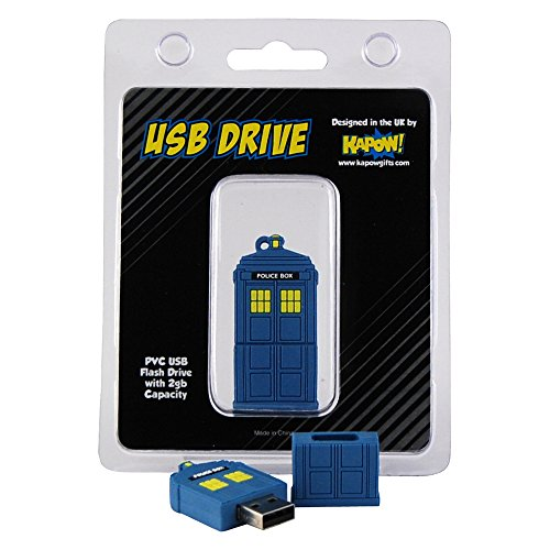 Doctor Who Flash Drive – Clé USB Doctor Police Box Tardis (2GB)