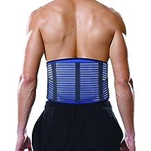 Bonmedico® Virtus, comodo busto con cuscinetto in gel per stabilizzare e donare sollievo alle vertebre (Vertebre Colonna Vertebrale)