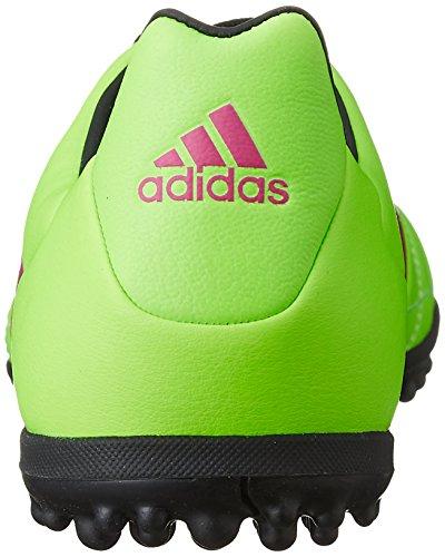 adidas Herren Ace 16.3 TF Leather Fußballschuhe Grün / Pink / Schwarz (Versol / Rosimp / Negbas)