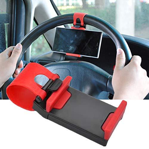 Hängende Taste Lenkrad Auto Handyhalter, Universal Auto Lenkrad Handyhalter Clip Stand Cradle für GPS -