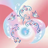 Artland Qualitätsbilder I Poster Kunstdruck Bilder 70 x 70 cm Botanik Blumen Digitale Kunst Pink Rosa A4WS Mondblumen 2