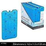 Cooler Block Cold Pack Blue 400ml–400ml Ice Pack Cooler Bag–14.5x 1.25x 25cm