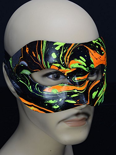 PSYWORK Schwarzlicht Augenmaske Dark PSY