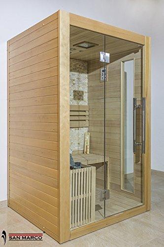 San Marco ibiza - Cabina sauna finlandese in legno per una o due persone