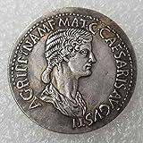 XDLiu Ancient Coin Collecting – Pièce de Monnaie du Roi Philosophe – Pièce de Monnaie Romaine Ancienne...