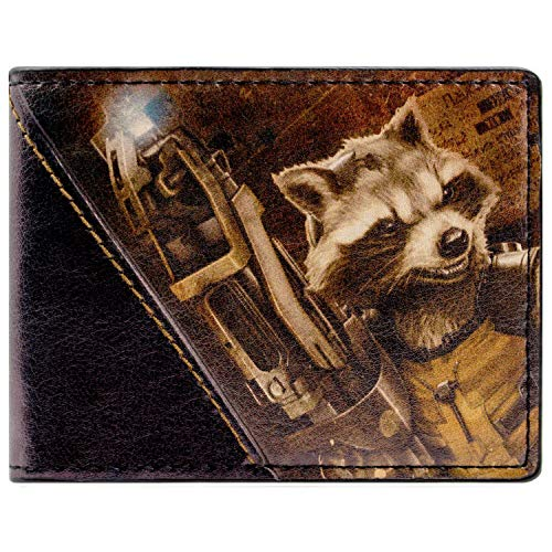 Marvel Guardians of The Galaxy Rocket Mehrfarbig Portemonnaie - Ronan Guardians Of The Galaxy Kostüm