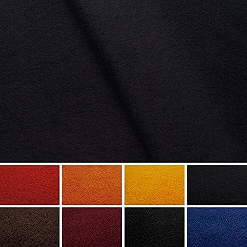 Polaire Fleece - Micro Fleece - Tissu - vendu au mètre (marine - marine)