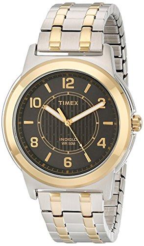 timex-herren-armbanduhr-tw2p619009j-main-street-bicolor-expansion-bracelet