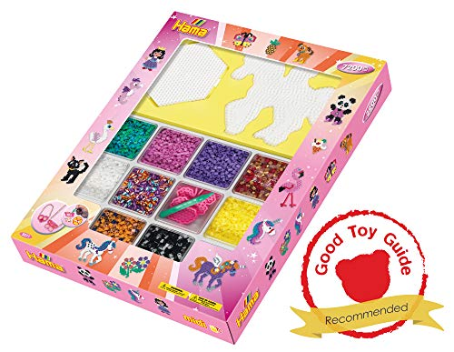 Hama 10.3071 - Juego de Cuentas de Mosaico Gigante (tamaño único), Color Rosa