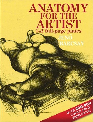 Anatomy For The Artist por Jeno Barcsay