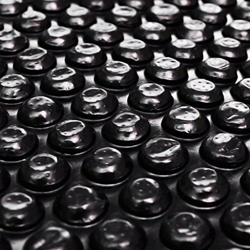 Las informaciones del producto:• Color: Negro•Dimensiones: 6 x 4 m• Material: película gruesa de polietileno con bolsas de aire• Material: PVC100% Esta película solar de la piscina puede elevar la temperatura del agua de su piscina de un máximo de...