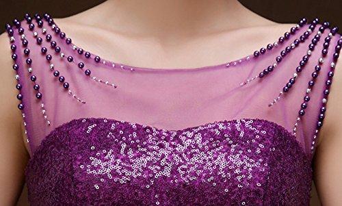Drasawee - Robe - Moulante - Femme Violet