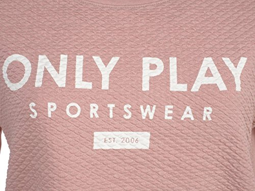 Only play - Asta zephyr/blc sweat l - Sweat Rose