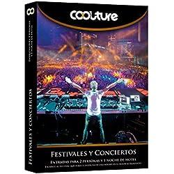 COOLTUREBOX - Caja Regalo - FESTIVALES Y CONCIERTOS - Entradas para 2 personas más 1 noche de hotel
