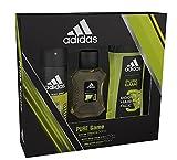 Adidas Pure Game Body Spray, Shower Gel and Eau de Toilette Trio Gift Set