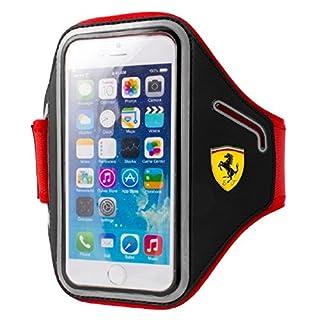 Ferrari Neopren-Armband für Apple iPhone 6/6S und Smartphone schwarz