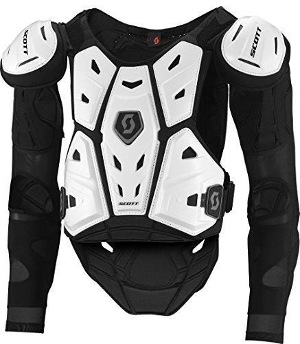 Scott Commander 2 MX Motocross DH Protektorenjacke weiß/schwarz 2017: Größe: XXL