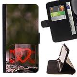 Graphic4You Valentines Day Heart Cube Design Brieftasche Leder Dünn Hülle Tasche Schale Schutzhülle für ZTE Zmax Pro