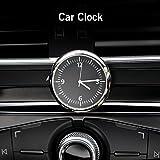 Vvciic Mini-Uhr zum Aufkleben im Auto, Zubehör, Glow Watch, Innendekoration, für Auto, Zuhause, Büro