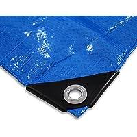 Telone per copertura/protezione bauplane 4x 6m legna da ardere per piscine