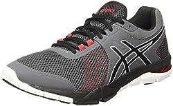 ASICS Mens Gel-Craze Tr 4 Carbon/Black/Prime Red Nordic Walking Shoes - 12 UK/India (48 EU)(13 US)