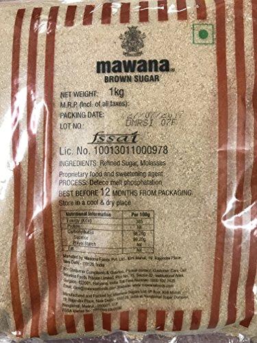 Mawana Select Brown Sugar, 1kg