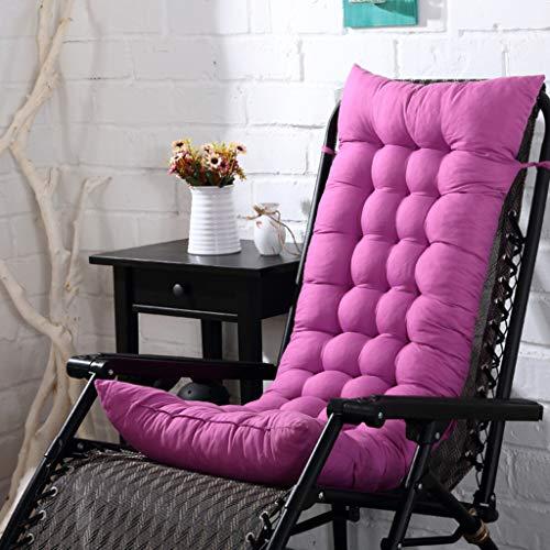 Cuscino per sedie a dondolo sedia pieghevole per siesta cuscino per sedie double sided poltrona imbottita cuscino per sedie in bambù cuscino universale per divano,e_125*48cm