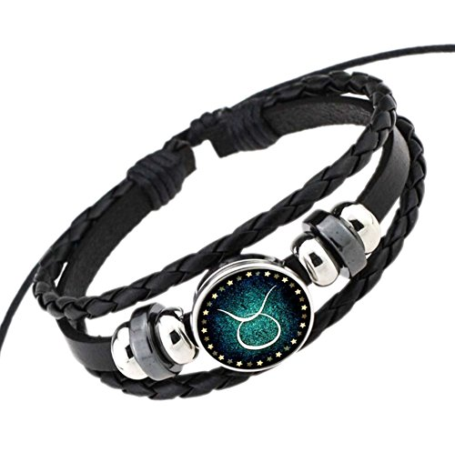 deley-retro-12-constellation-hand-woven-leather-braided-punk-chain-cuff-wrap-bracelet-taurus
