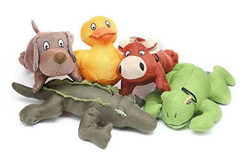 Artikelbild: Multipet Dazzler Animals Assorted Ballistic Style Squeaky Nylon Dog Fun Toy