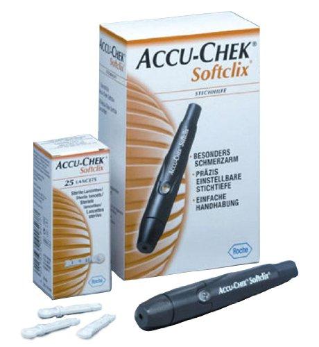 Penna Pungidito Per Diabetici + 25 Lancette Softclix