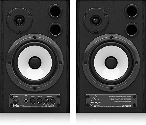 Behringer MS40 Monitor Speakers (Paar) High Resolution Digital Coaxial