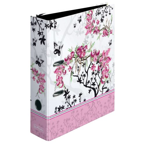 Herlitz Ordner Ladylike Bloom maX.file A4 8 cm