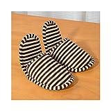 YULAN Reisepantoffeln Faltbare Pantoffeln Luftfahrt im Freien Hotel-Einwegpantoffeln Reisepantoffeln Verdicken Luftpantoffeln im Freien (Color : Brown (small Code))
